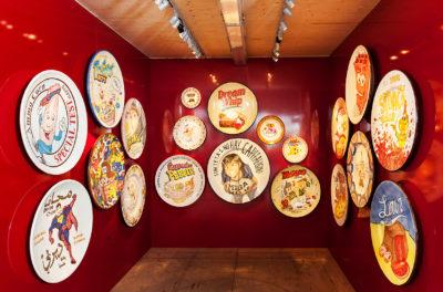 Syrian Superman and Other Ceramic Plates from Talavera de la Reina - Riiko Sakkinen