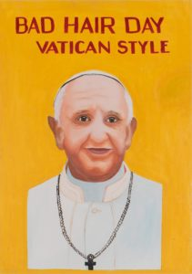 Bad Hair Day Vatican Style - Riiko Sakkinen