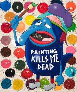 Painting Kills Me Dead - Riiko Sakkinen