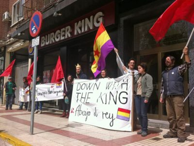 Down with the King (Collaboration with the Communist Party of Spain) - Riiko Sakkinen