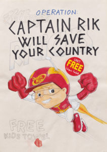 Captain Rik Will Save Your Country - Riiko Sakkinen
