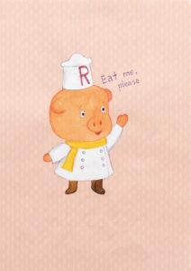 Eat Me Ramen Pig - Riiko Sakkinen